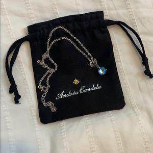 ANDREA CANDELA 925 sterling silver necklace 🌻
